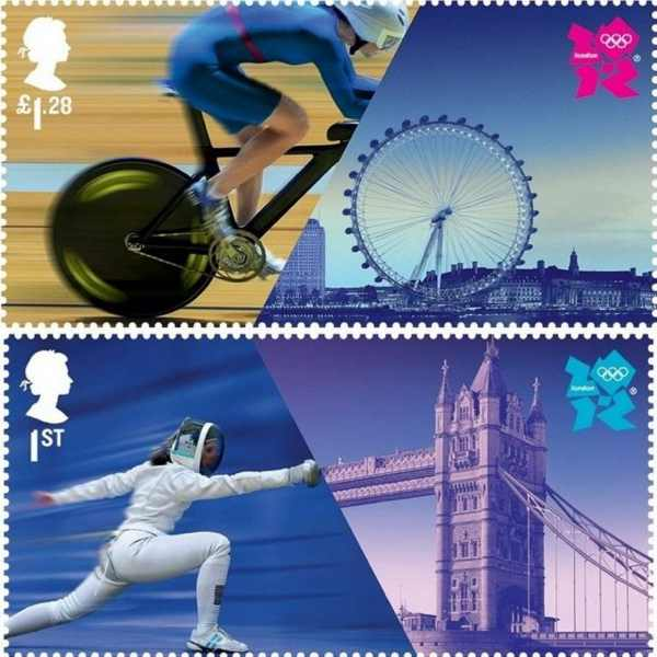 London-2012-Olympics-stamps-by-Hat-trick