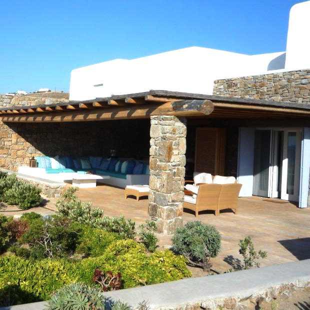 Luxury Elegant Villa Mykonos exterior