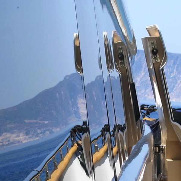 Majora, boat, sea, Poliegos, Cyclades, Greece