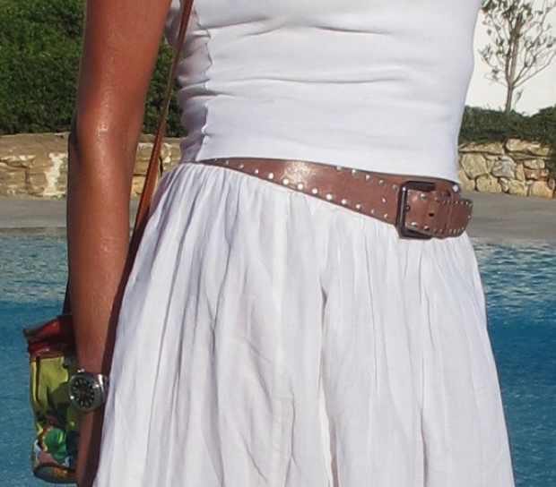 Massimo Dutti Pink belt
