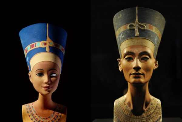 Barbie as Nefertiti