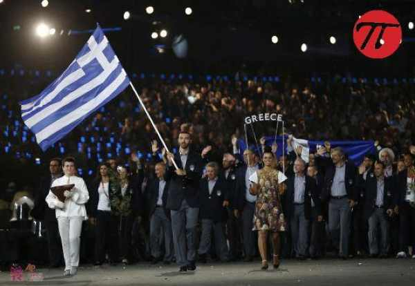 Olympics 2012 Greek team