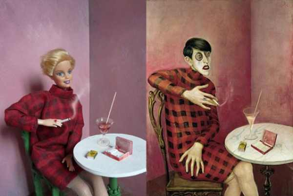 Barbie and Otto Dix, Portrait de la journaliste Sylvia von Harden barbie famous art