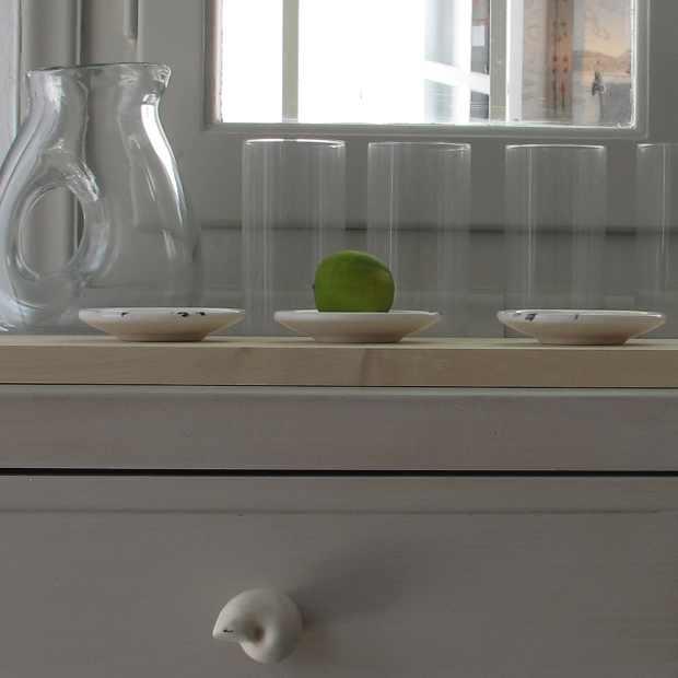 Paroikia Paros Yria Shop Interior Decoration Ceramic and Glass