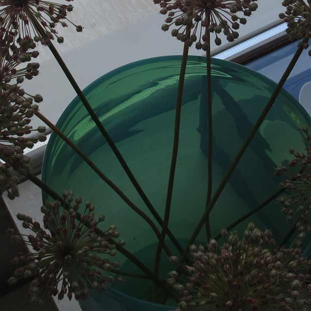 Paroikia Paros Yria Shop flower green vase