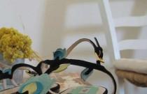 Prada Floral Sandals
