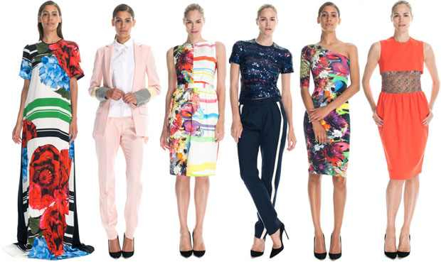 Preen Resort 2013 Collage at Operandi