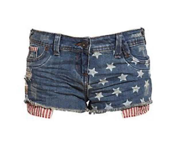 Shorts American Flag attire