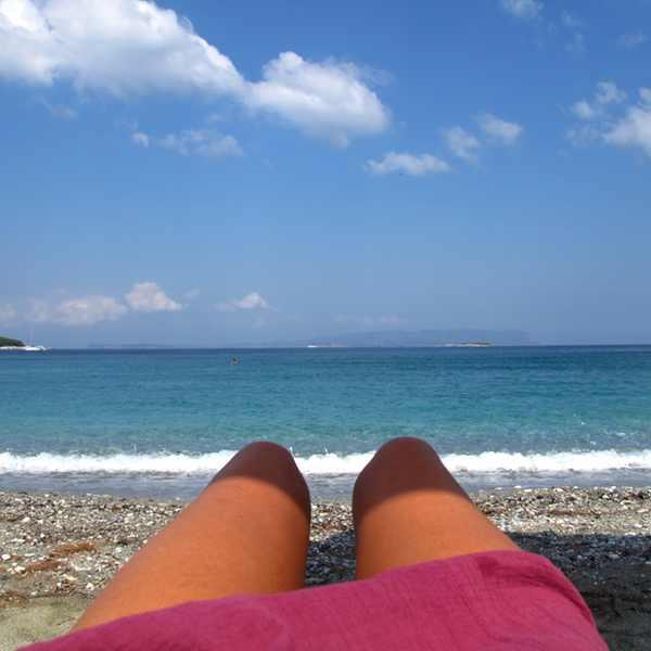 Skopelos Beach Beach legs