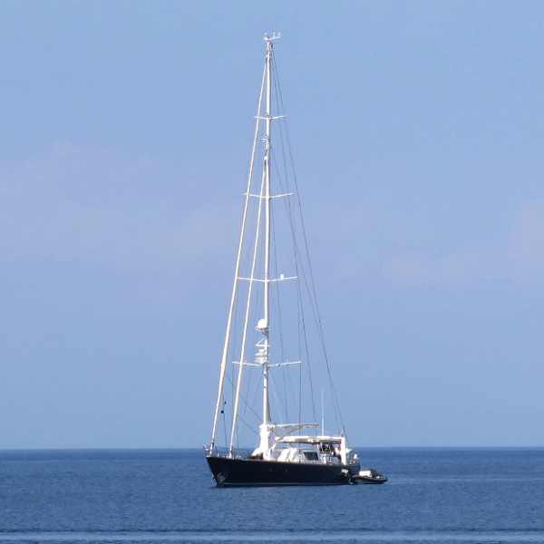 Skopelos Beach Sailing boat