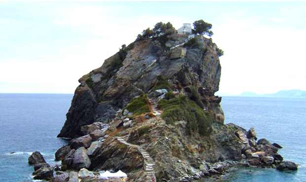 Skopelos Church Mama Mia Movie