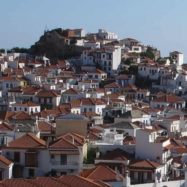 Skopelos, Houses