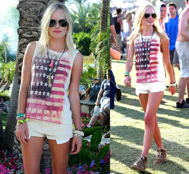 USA Flag Americana T-shirt Celebrity