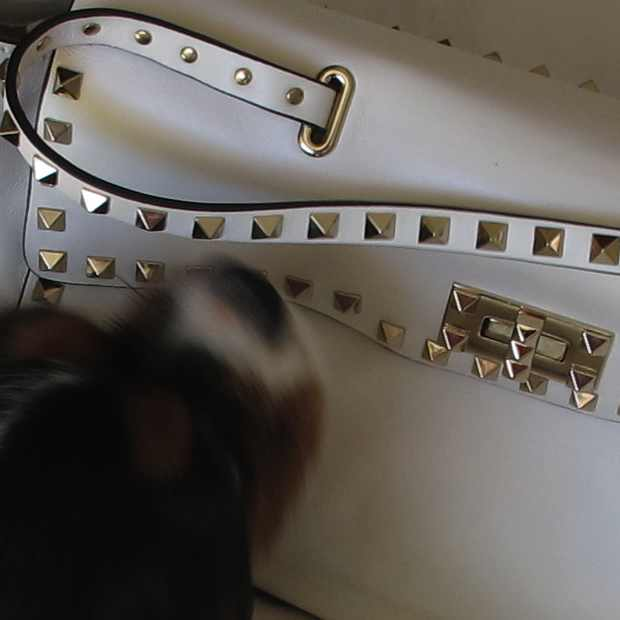 Valentino Studded white bag Oliver Dog
