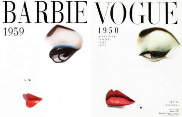 Vogue, Magazine, Erwin Blumenfeld barbie