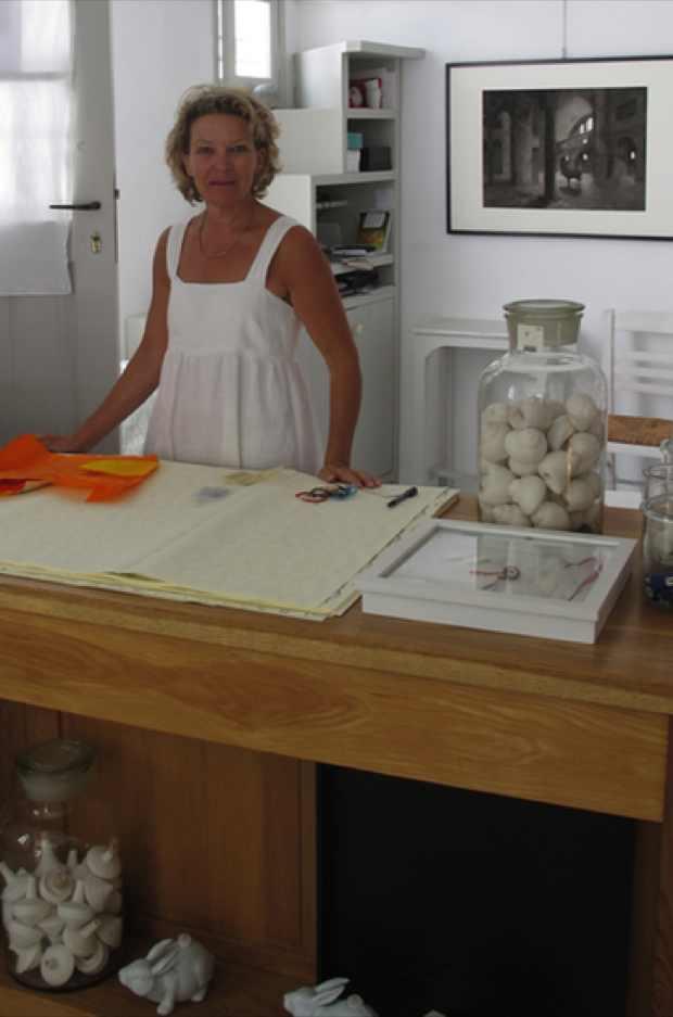 Yria Shop owner and artist Monique