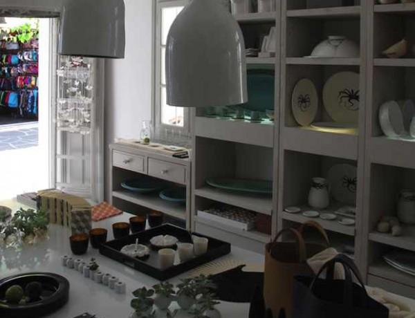 Yria Shop Paroikia Paros, Ceramic handcrafted