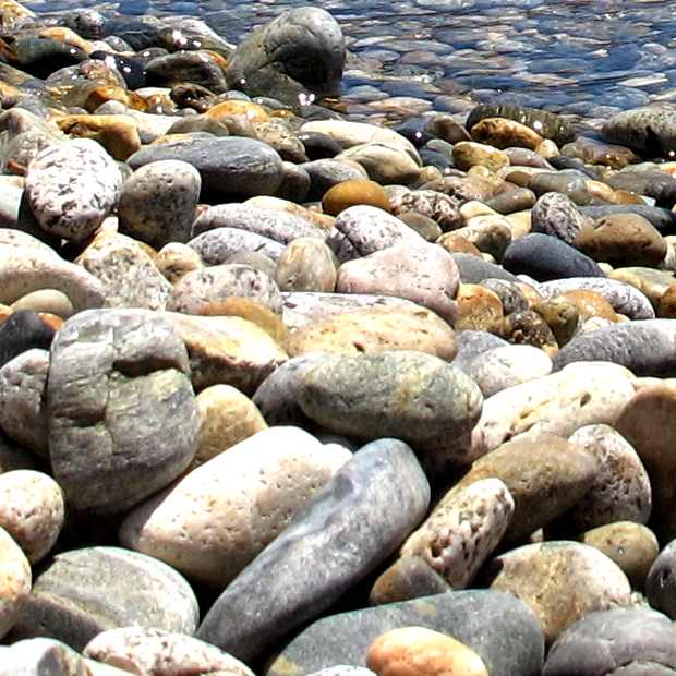 beach stones Serifos