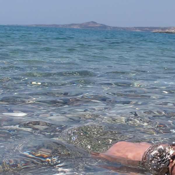 bracelets,sea, Poliegos, Cyclades, Greece
