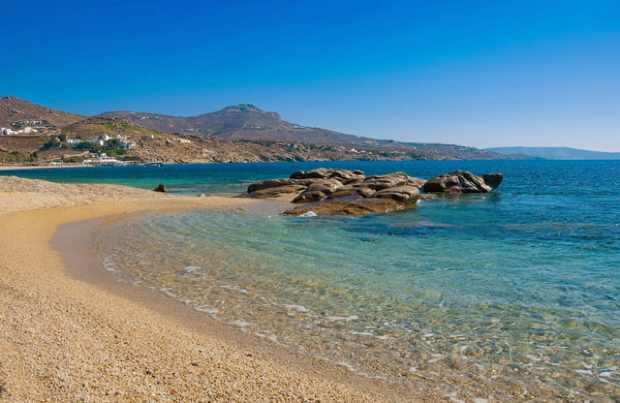 Mykonos, beach