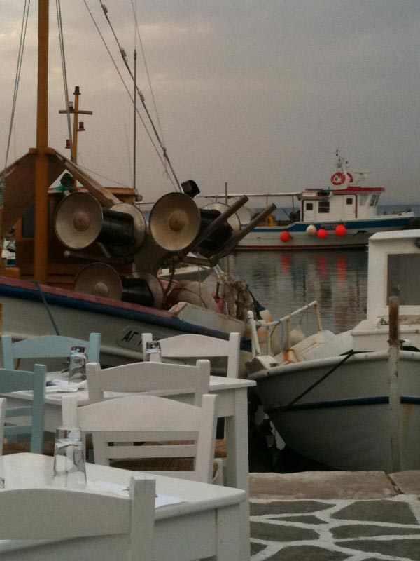 Sigi Ikthios Paros restaurant