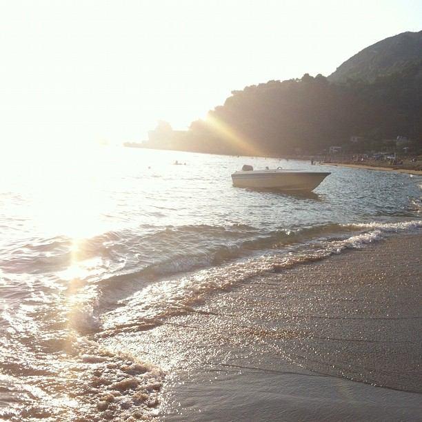 Corfu, Glyfada beach