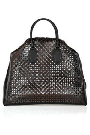 Alaia Laser-cut leather tote was 3,460 is 1,384