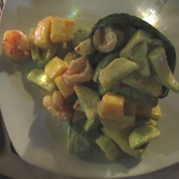 Scrimps Avocado La Cucina Corfu Town