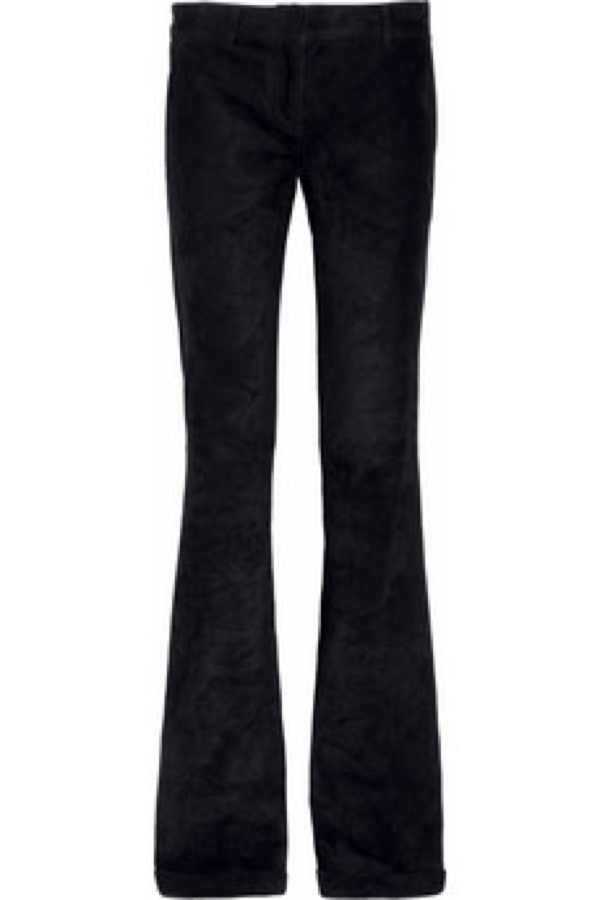 Balmain suede Flared  pants was $3,845 is $1,153.50