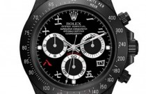 OBJECTS OF DESIRE- ROLEX DAYTONA BLACK AND HERMES CROCODILE KELLY