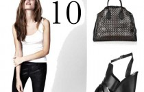 Smart Buys- 10 Best Black Leather Items on Sale Now For Fall Looks