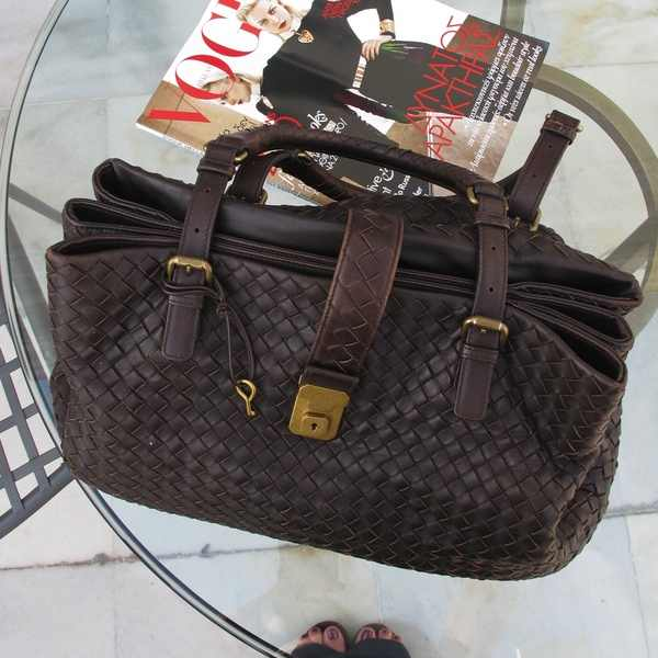 Bottega Veneta Brown bag Electra Palace Hotel Vogue