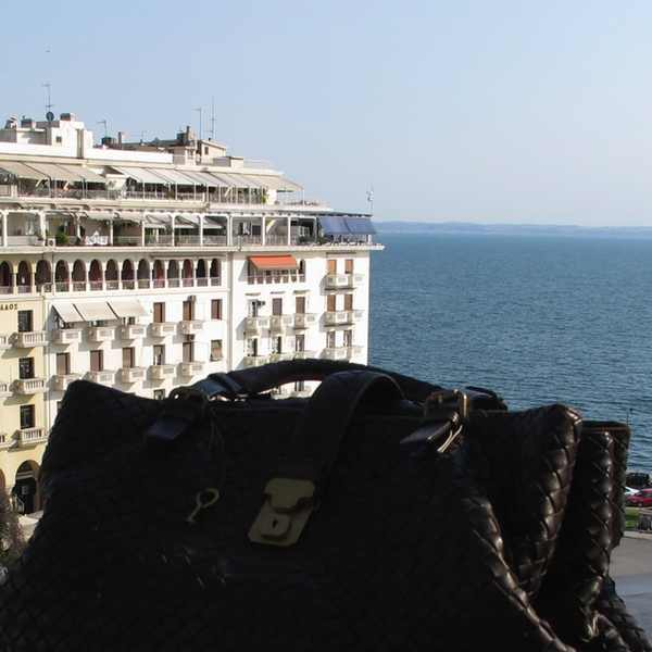 Bottega Veneta Brown bag Electra Palace Hotel