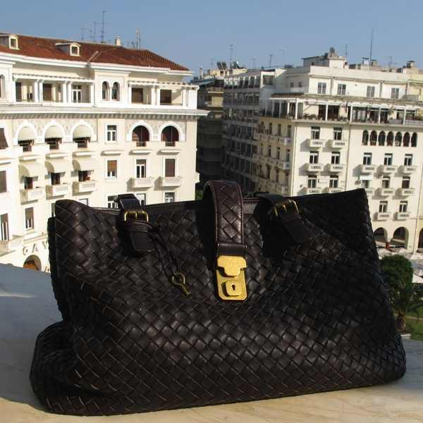 Bottega Veneta Brown bag Electra Palace Hotel Balcony view