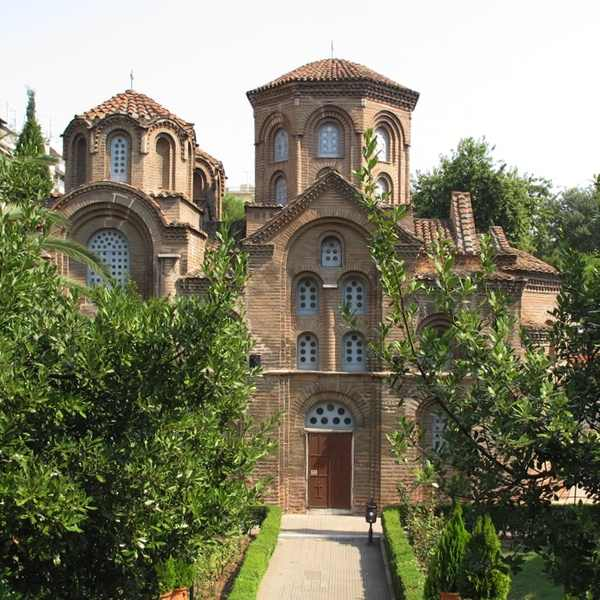 Church Panagia Chalkeon Thessaloniki