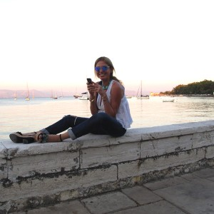 Corfu Town Sea View, Nina Papaioannou, Fashion Blogger, Lifestyle Blogger, Style Blogger, Trendsurvivor, Personal Style Blogger,