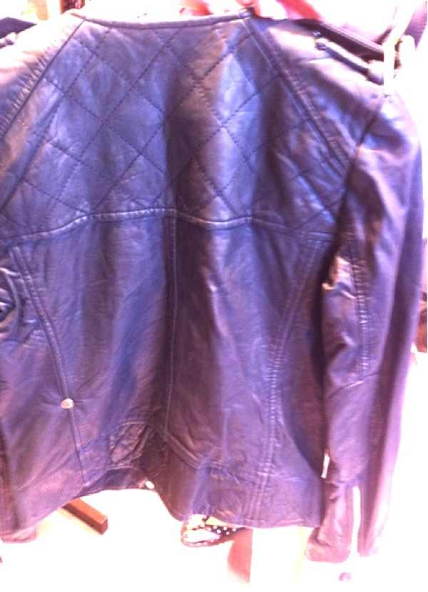 Etoile Isabel Marant Kady Leather Jacket back