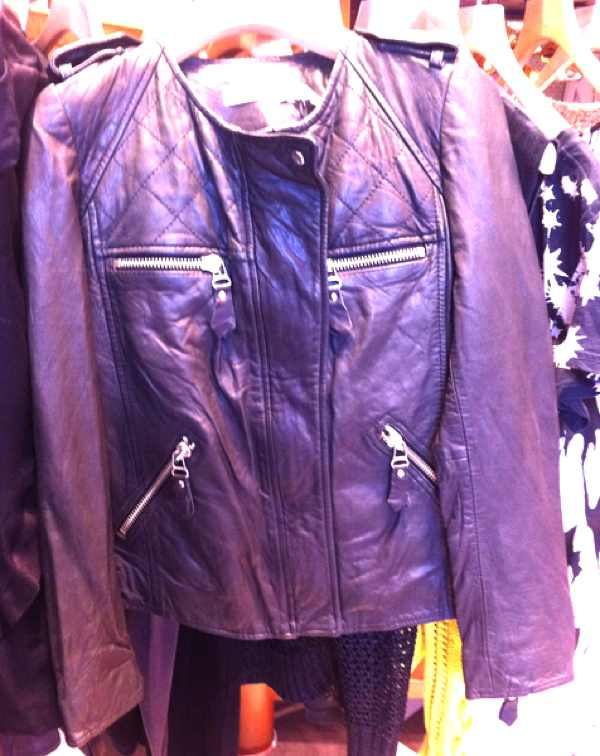 Etoile Isabel Marant Kady Leather Jacket