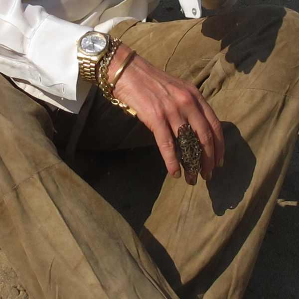 Glyfada Corfu ring, Rolex watch