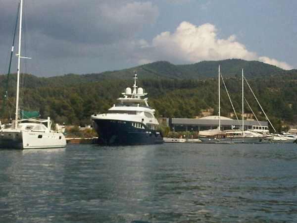 Halkidiki, yachts
