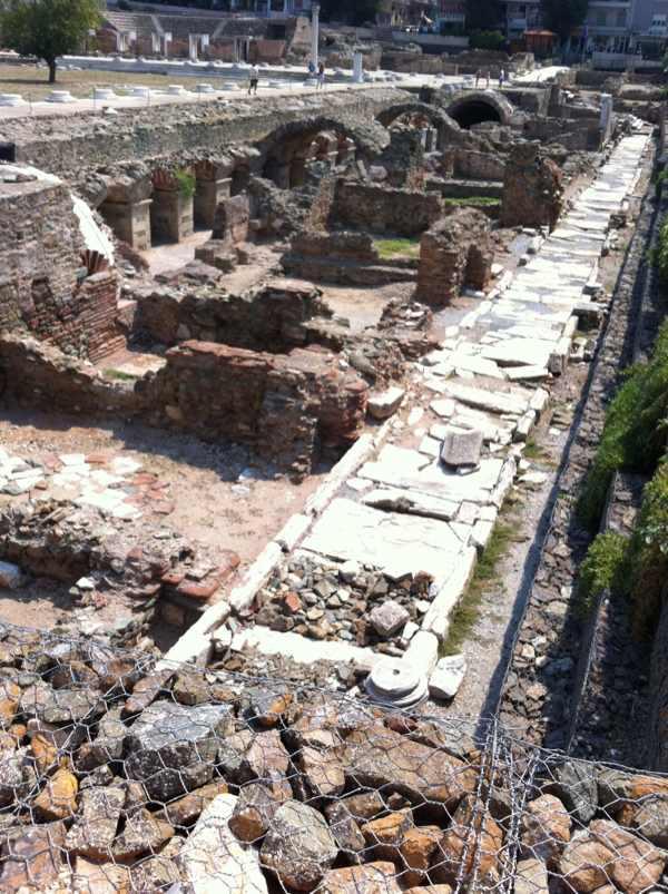 Thessaloniki Roman Ruins