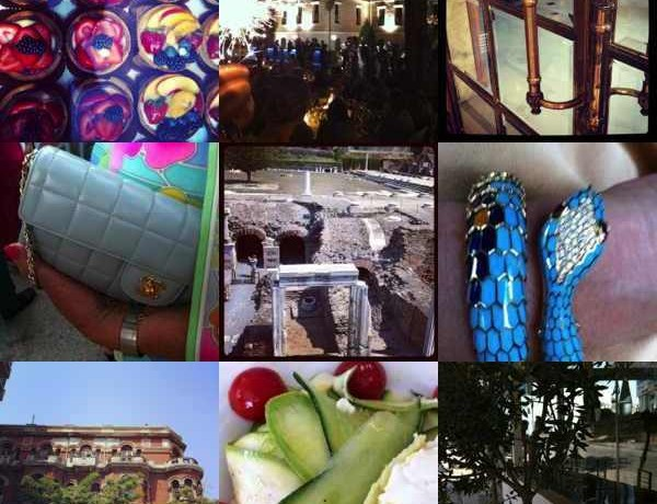 Instagram, Trendsurvivor, August 3. Food, Ancient ruins, Chanel