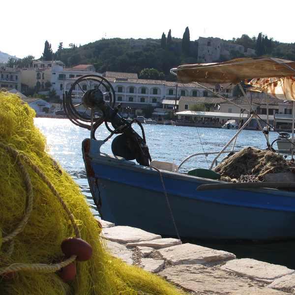 Corfu, Kassiopi kaiki