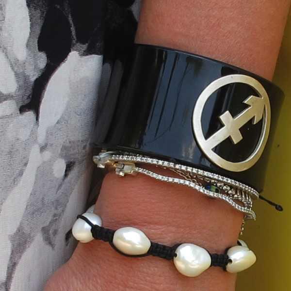 Lalaounis Sagitarius bracelet plexi