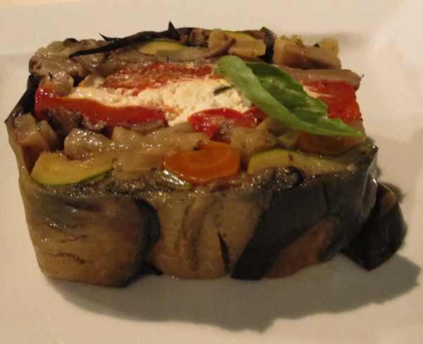 Levantis Paros Paroikia Vegetable grilled