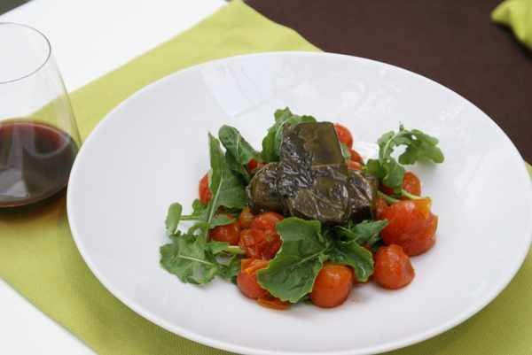 Levantis-tomatoe salad Mediterranean creative cuisine