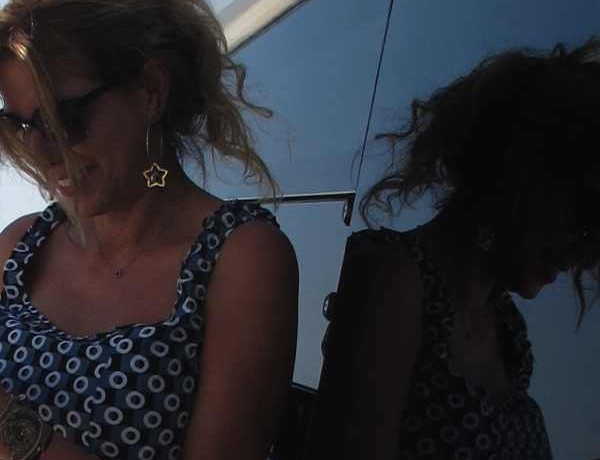 Marni top Boat, cut off shorts, Miu Miu sunglasses2
