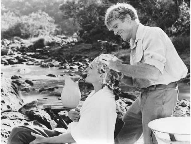 Out of Africa Robert Redford and Meryl Streep