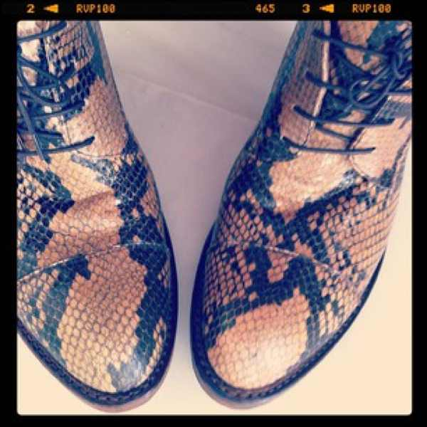 Penelope Chilvers Camino shoes androgynous 2012 shoes