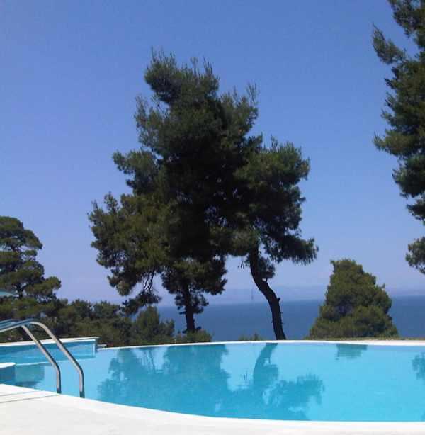 Halkidiki Pool View